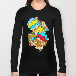Primary Body Slugs Long Sleeve T-shirt