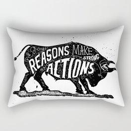Lettering Rectangular Pillow