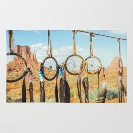 Jew's harp. Monument Valley Rug