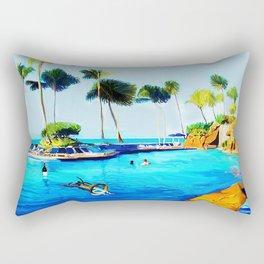 Corky's diving Rectangular Pillow