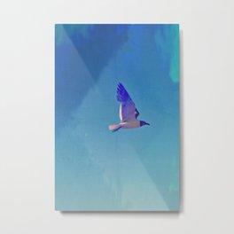 Sea Gull Flying Metal Print