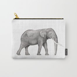 Bull Elephant  Carry-All Pouch