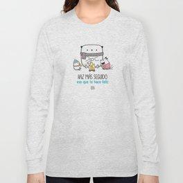 T Shirt Haz Mas Seguido Long Sleeve T-shirt