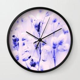 Opalescent dusk Wall Clock