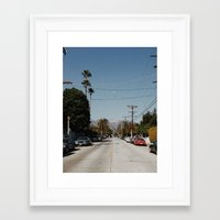hollywood Framed Art Prints featuring Hollywood by Ed Pulella