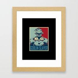 GS Hope Poster Framed Art Print