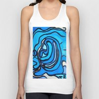 ghost in the shell Tank Tops featuring Shell by Abstract Jack95