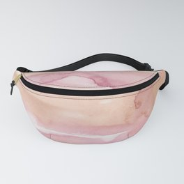 28    191215   Abstract Watercolor Pattern Painting Fanny Pack