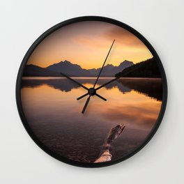 Lake McDonald – Glacier National Park, Montana, USA Wall Clock