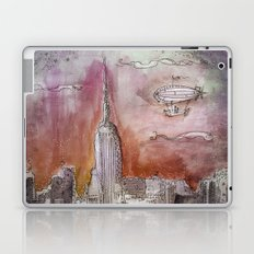 Boat over the City Laptop & iPad Skin