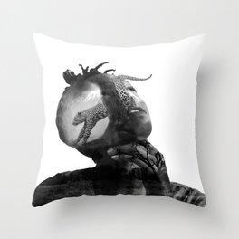 Mama Africa Throw Pillow