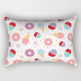 Donuts party Rectangular Pillow
