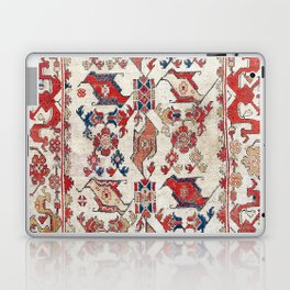 Ushak Selendi 17th Century Bird Carpet Print Laptop & iPad Skin