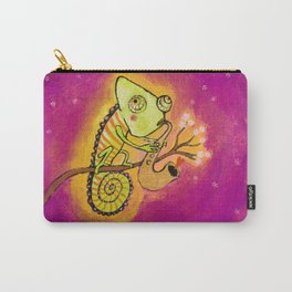 Chameleon in love Carry-All Pouch