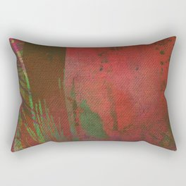 Lost in the Jungle - Yossi Ghinsberg Rectangular Pillow