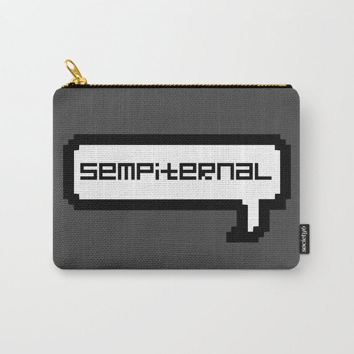 Sempiternal - Grey Carry-All Pouch