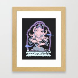 Long Lines Block the Path to Enlightenment Framed Art Print