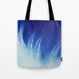 White Feathers Floating Up to Heaven Tote Bag