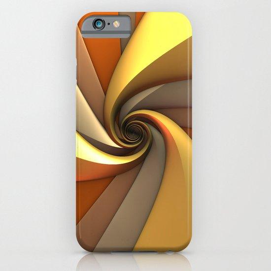 Tri-Gold Spiral iPhone & iPod Case