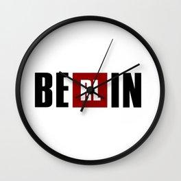 La Casa de Papel - BERLIN Wall Clock