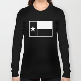TX Texas Flag V1 Long Sleeve T-shirt