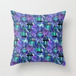 Ramadan Pattern Throw Pillow