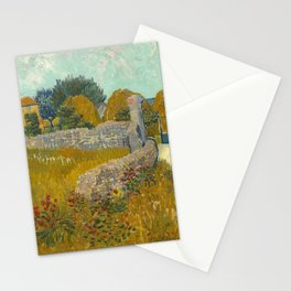 Vincent van Gogh - Farmhouse in Provence Stationery Cards