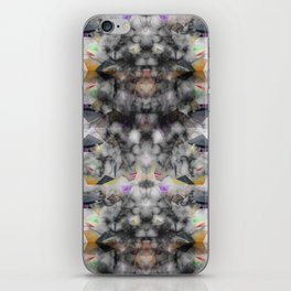 Bricolage of the Present(s) II iPhone Skin