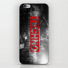 techno saved my night iPhone & iPod Skin