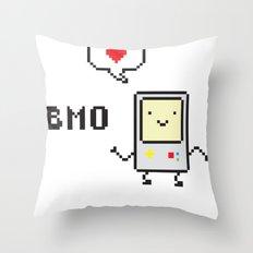 Beemo Lovin' Adventure Time Boogie Throw Pillow