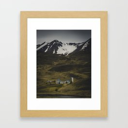 Lonely Mountain Farms Framed Art Print