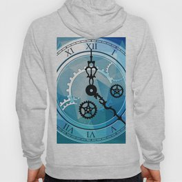 Blue Clock Hoody