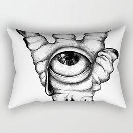 Alien Hand Rectangular Pillow