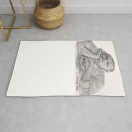 Alexander McQueen Savage Beauty Drawing Rug