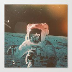 Project Apollo - 7 Canvas Print