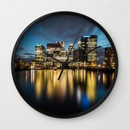 Blackwall Basin Wall Clock