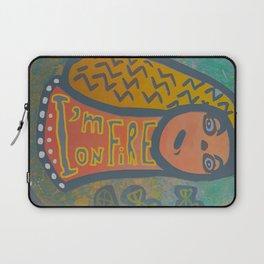 Atlantis Icon / I'm on Fire! Laptop Sleeve