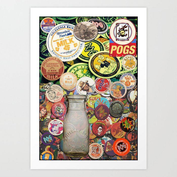 POG SYNECTICS2 #12 Art Print by fredmarinello