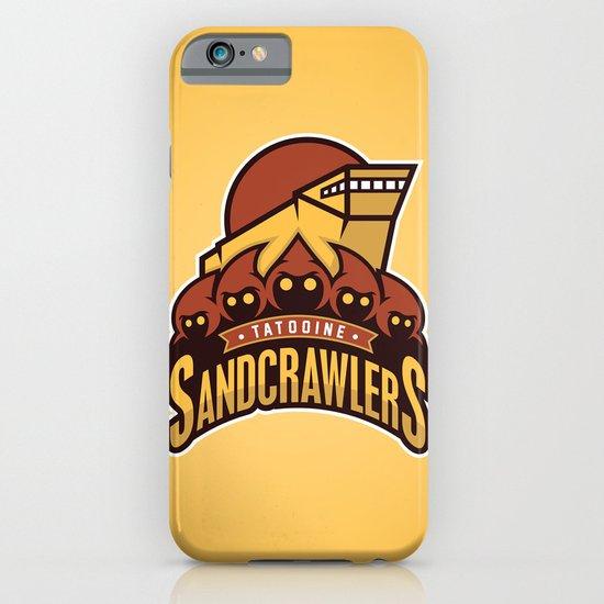 Tatooine SandCrawlers - Gold iPhone & iPod Case