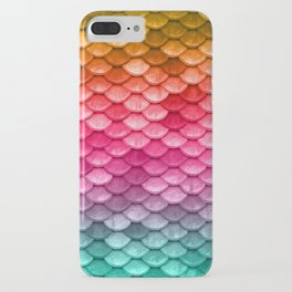 Mermaid Tail Fish Scales iPhone Case