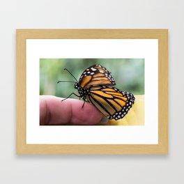 Shake my hand Framed Art Print