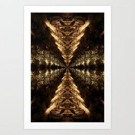 Projecting Infinite Path Art Print