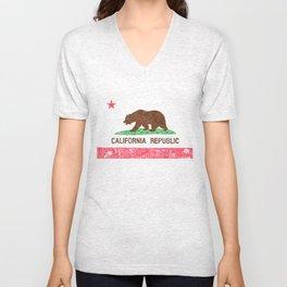 MADE IN CALIFORNIA Unisex V-Neck
