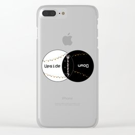 Stranger Venn Clear iPhone Case
