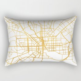 BALTIMORE MARYLAND CITY STREET MAP ART Rectangular Pillow