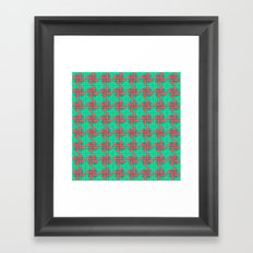 Pinwheels Pattern Framed Art Print