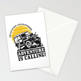Off road adveture Stationery Cards