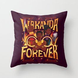 Women of Wakanda Throw Pillow