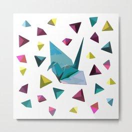 Origami carnival Metal Print