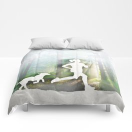 Forest Run Comforters